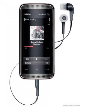 Новый сенсорный телефон Nokia 5530 XpressMusic