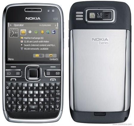 Тонкий QWERTY-смартфон Nokia E72