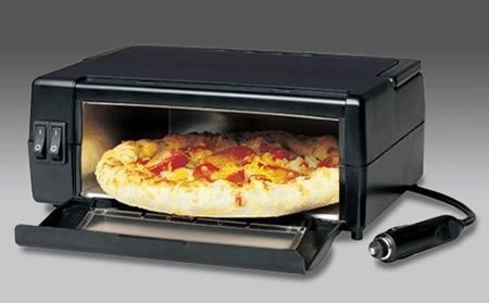 Портативная пицце-пекарня для машины