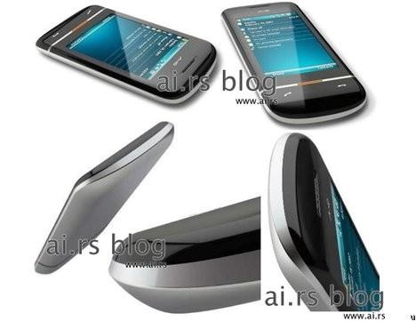 Мобильный телефон Mio Amber