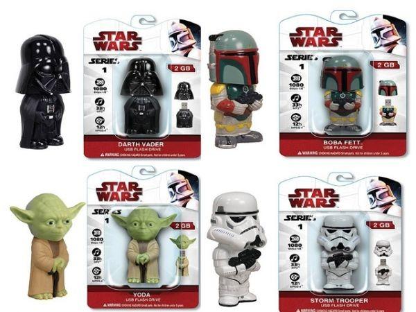 USB-флешки в виде ваших любимых героев Star Wars