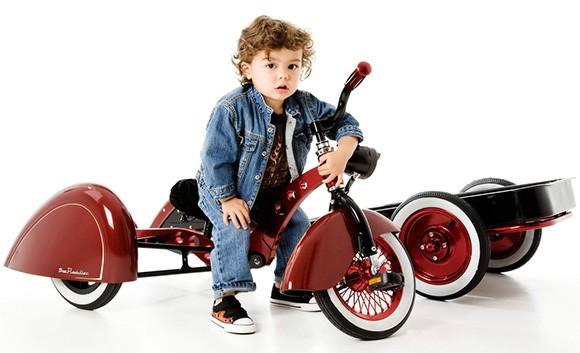 2009 Kid Kustoms Enzo. Велосипед с фургоном