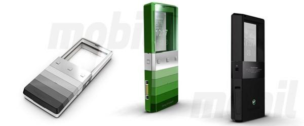 Концепт телефона Sony Ericsson Kiki