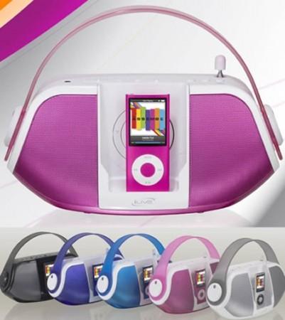 iLive iPod Boom Box - крутой и стильный