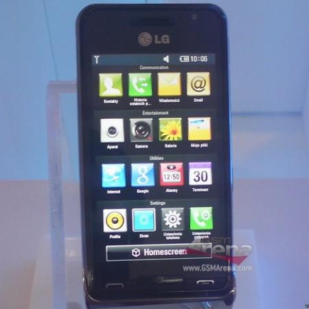 Новый камерафон LG GC990 Louvre