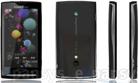 XPERIA X3 – Android-телефон от Sony Ericsson