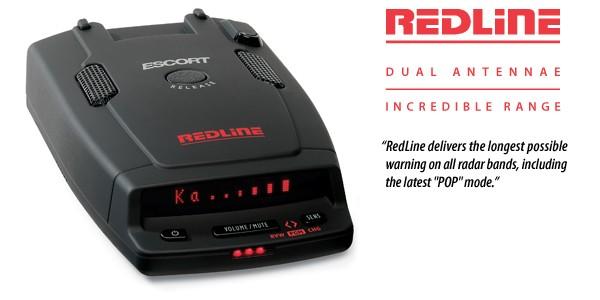 Автомобильный детектор радаров Escort Redline