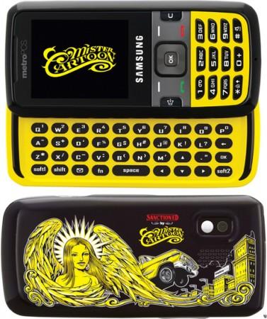 Mister Cartoon Samsung r450 – телефон для любителей татуировок