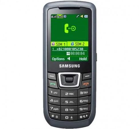 Samsung C3212 DuoS – телефон с двумя SIM-картами.