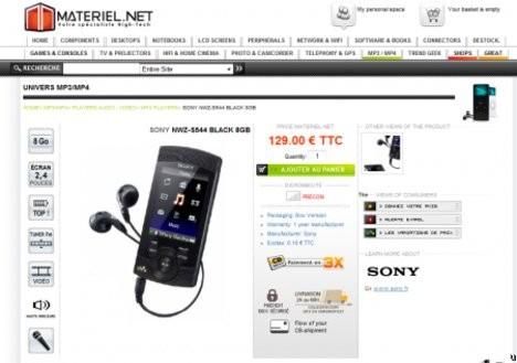 Новые плееры Sony Walkman