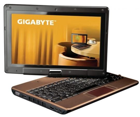 Нетбук с сенсорным экраном Gigabyte T1028x
