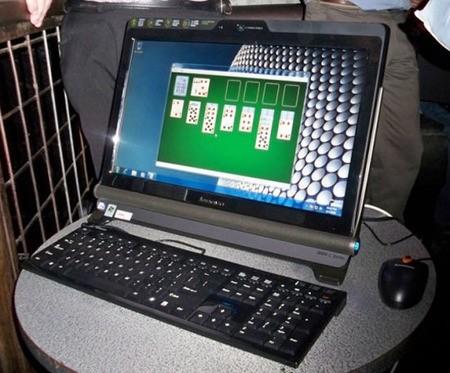 Lenovo IdeaCentre C100 – сенсорный неттоп все-в-одном за $ 400