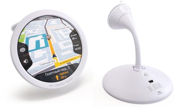 Navigarius GPS – GPS-концепт от Артемия Лебедева