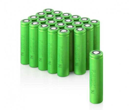 Зеленые аккумуляторы от Sony