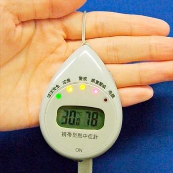 Гаджет для загорающих Portable Heat Stroke Meter