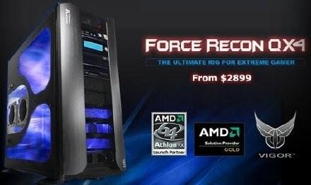 Vigor Force Recon QX4 - смерть геймера.