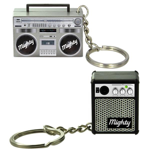 Миниатюрные динамики Mighty Mini Boom Box и Mighty Mini Amp