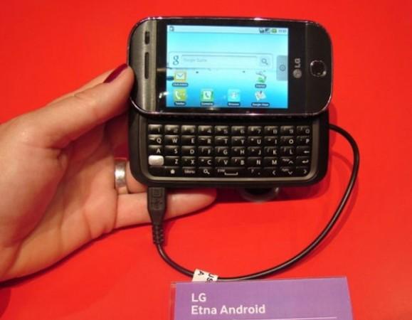 LG Etna – очередной Android-смартфон