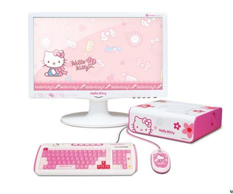 MiNEW A10 – компьютер для поклонников Hello Kitty