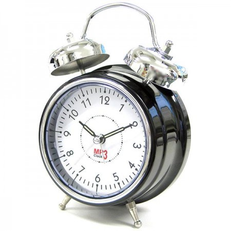Ретробудильник MP3 Clock DX