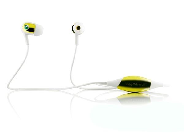 Sony Ericsson MH907 – наушники с датчиком движения