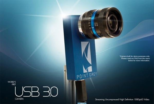 Веб-камера Point Grey с интерфейсом USB 3.0