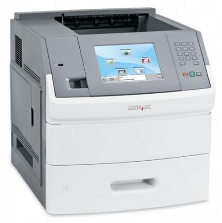Первый лазерный принтер с сенсорным дисплеем от Lexmark