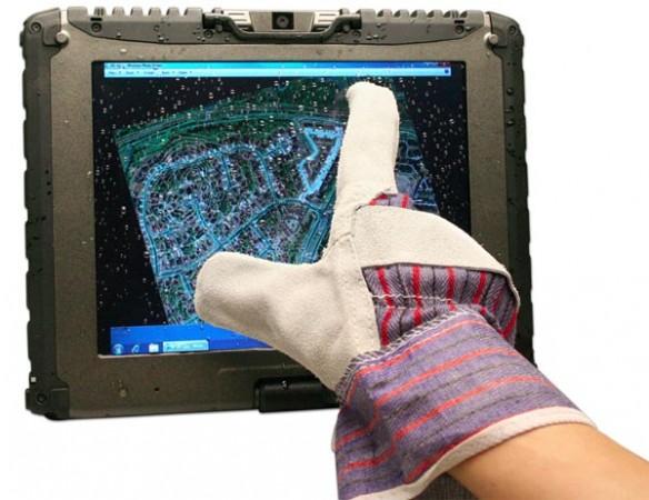 Getac V100 – прочный компьютер с мультисенсорным дисплеем