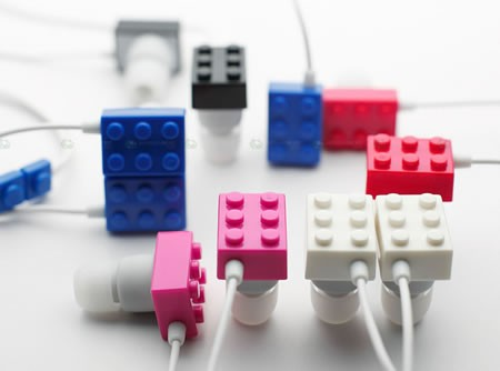 LEGO-наушники от Elecom