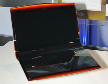 Sony VAIO EL  - ноутбук с двойным гибким OLED дисплеем