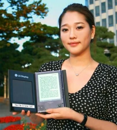 «Солнечная» читалка для электронных книг от LG