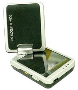 TranSystems i-Blue757 - GPS на солнечных батареях
