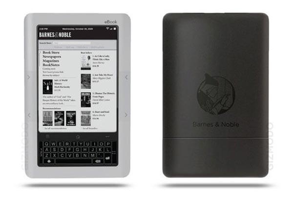 Устройство для чтения электронных книг от Barnes and Noble