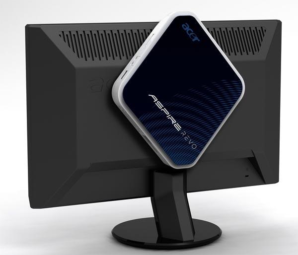 Неттоп Acer Aspire Revo c двуядерным процессором и Windows 7