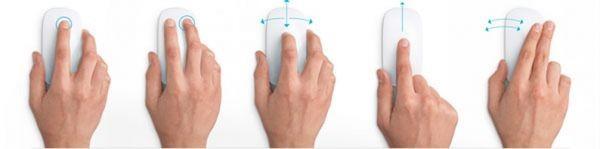 Сенсорная мышка Apple Magic Mouse