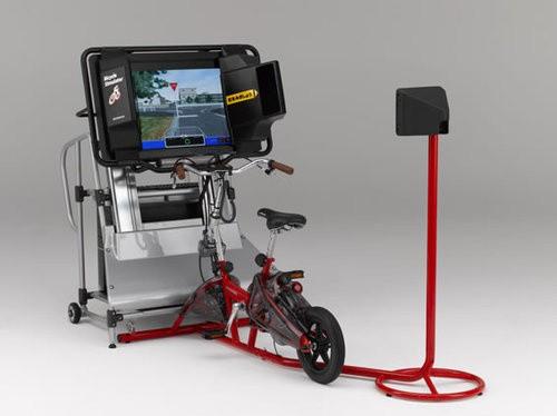 Велотренажер — симулятор