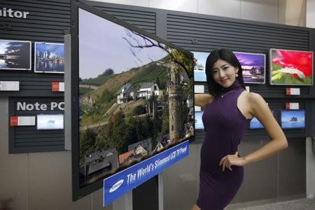 Samsung анонсировала самый тонкий телевизор