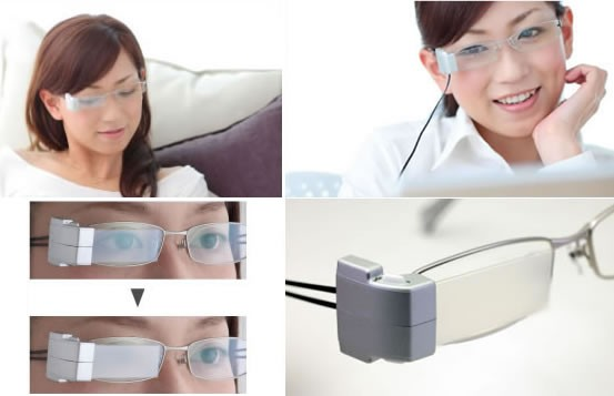 Очки для морганий