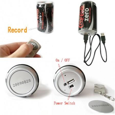 Coke Can Camera для шпионов