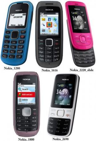 Недорогие телефоны от Nokia