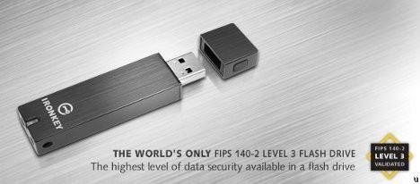 Ironkey D200 – флешка, защищающая данные
