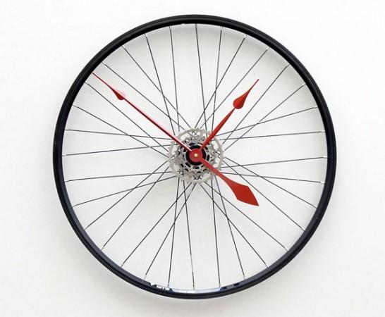 Велосипедные часы Bike Wheel Clock
