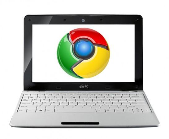 ОС Google Chrome OS появится уже на следующей неделе