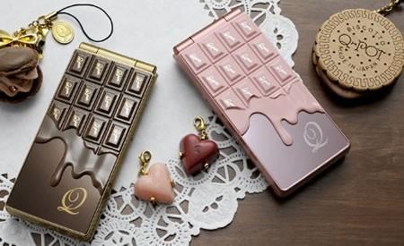Docomo Style. Шоколадный телефон