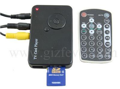 Компактный видеоплеер USB TV Card Player