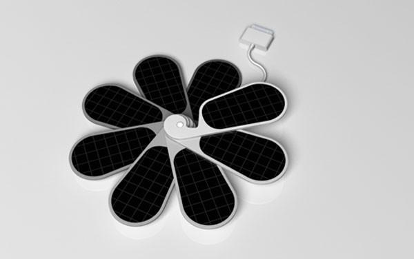 iPetals – солнечная зарядка для iPhone