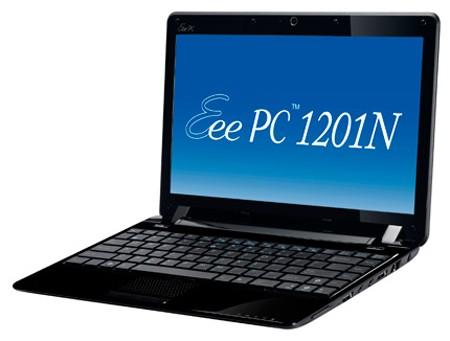 ASUS Eee PC 1201N – мультимедийный нетбук
