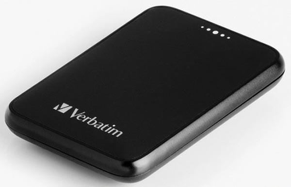 Карманный жесткий диск от Verbatim