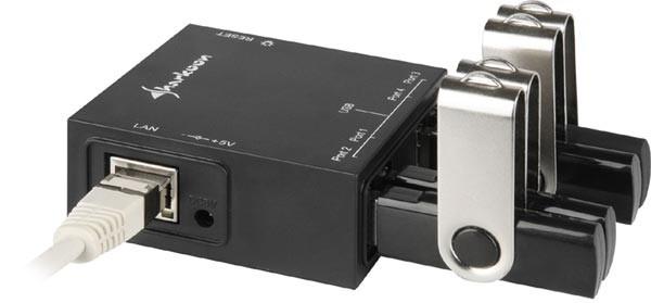 Сетевой USB-адаптер Sharkoon USB LANPort