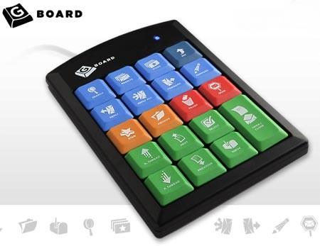 Мини-клавиатура Gboard